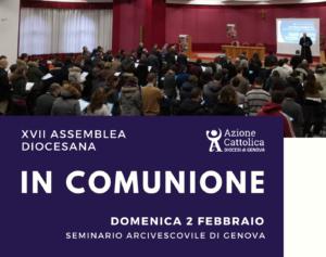 Assemblea Diocesana @ Seminario Arcivescovile | Genova | Liguria | Italia