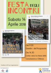 Festa degli Incontri ACR 2018 @ Acquasola | Genova | Liguria | Italia