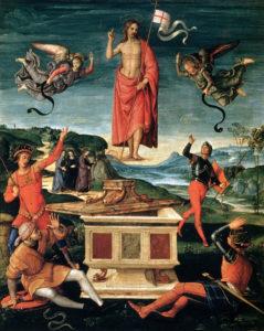 Resurrezione di Cristo - Raffello Sanzio