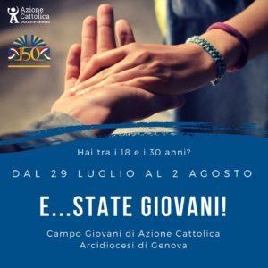 Estate Giovani @ Casa di accoglienza del seminario arcivescovile di Genova