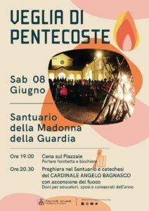 Veglia di Pentecoste @ Santuario della Guardia